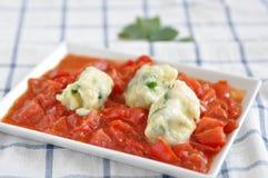 Gnocchi рикотты стоковое изображение rf
