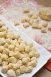 Gnocchi imagenes de archivo