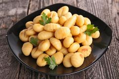gnocchi photo stock