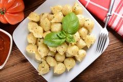 gnocchi stock afbeelding