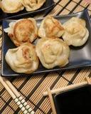 Gnocchi - alimento asiatico Fotografia Stock Libera da Diritti