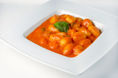 Gnocchi alla sorrentina Royalty Free Stock Images