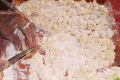 Gnocchi caseiro Foto de Stock Royalty Free