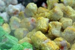 Gnocchi del gamberetto e della carne di maiale cotti a vapore cinese Immagini Stock