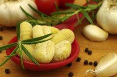 Gnocchi della pasta di Italien Fotografie Stock