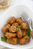 Gnocchi della patata dolce Immagini Stock Libere da Diritti
