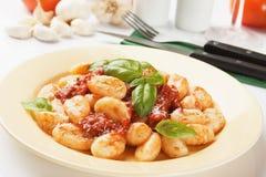 Gnocchi di patata, italian potato noodle Stock Image