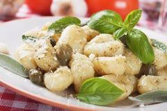 Gnocchi di patata Stock Image
