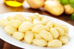 Gnocchi Di patate Royalty-vrije Stock Foto