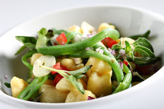 Gnocchi dish Stock Image