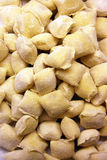 Gnocchi filled with cheeses Royalty Free Stock Images