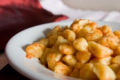Gnocchi meal Stock Photos