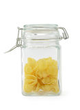 Gnocchi pasta in jar Stock Photography