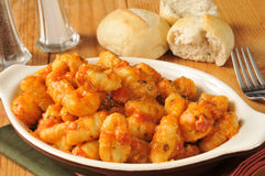 Gnocchi with pomodoro sauce Stock Photography