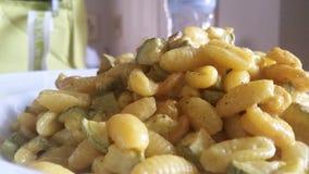 Gnocchi sardi - pasta Stock Photo