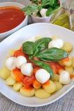 Gnocchi Sorrento Stock Image