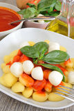 Gnocchi Sorrento Royalty Free Stock Images