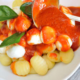 Gnocchi Sorrento Royalty Free Stock Photo