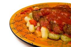 gnocchi stek Obraz Stock