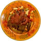 gnocchi stek Obrazy Stock