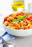 Gnocchi with tomato sauce Stock Photography