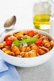 Gnocchi with tomato sauce Stock Photos