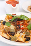 Gnocchi with Wild Mushrooms Royalty Free Stock Photos
