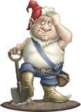 gnome садовника Стоковые Фотографии RF