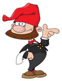 кельнер gnome Стоковое фото RF