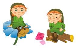 gnome Imagem de Stock Royalty Free