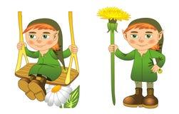 gnome Imagens de Stock Royalty Free