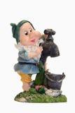 Gnome con il rubinetto Immagini Stock Libere da Diritti