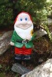Gnome con la barba immagine stock