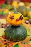 Gnome d'automne Images libres de droits