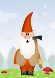 Gnome de jardin Photo stock