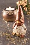 Gnome de Noël image libre de droits
