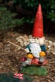 Gnome del giardino Fotografia Stock