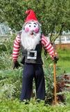Gnome do espantalho. Imagem de Stock Royalty Free