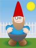 Gnome do jardim - vetor Fotografia de Stock Royalty Free