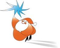 Gnome do vetor da ilustração Imagens de Stock Royalty Free