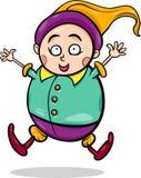 Gnome or dwarf cartoon illustration Stock Images