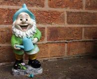 Gnome feliz foto de stock royalty free