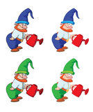 Gnome gardener Stock Photos