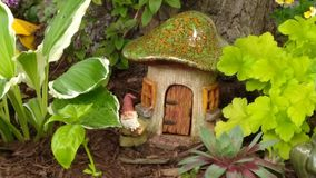 Gnome Home royalty free stock images