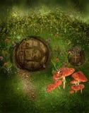 Gnome house royalty free illustration