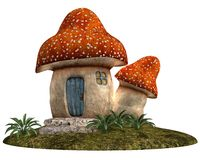 Gnome House Stock Photography
