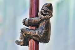 Gnome statue, Wroclaw, Poland Royalty Free Stock Photo