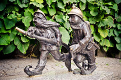Gnome statue Royalty Free Stock Photo