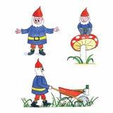 gnomes Images libres de droits