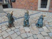 gnomes royalty-vrije stock afbeeldingen